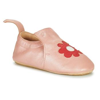 Pantofi Copii Papuci de casă Easy Peasy BLUBLU FLEURS Roz