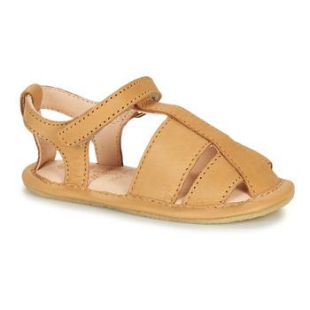 Pantofi Copii Papuci de casă Easy Peasy NOBLU Maro