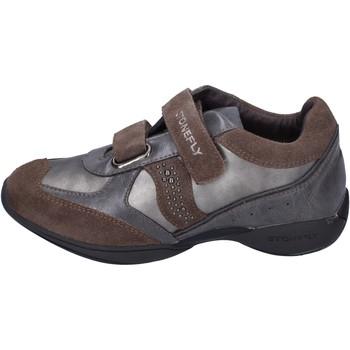 Pantofi Fete Pantofi sport Casual Stonefly BK32 Gri
