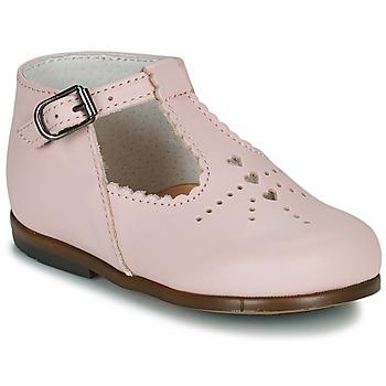 Pantofi Fete Balerin și Balerini cu curea Little Mary FLORIANE Roz
