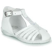 Pantofi Fete Sandale  Little Mary VOLGA Alb