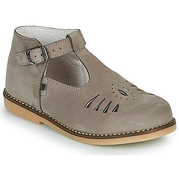 Pantofi Copii Balerin și Balerini cu curea Little Mary SURPRISE Gri