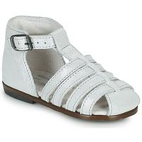 Pantofi Fete Sandale  Little Mary JULES Argintiu