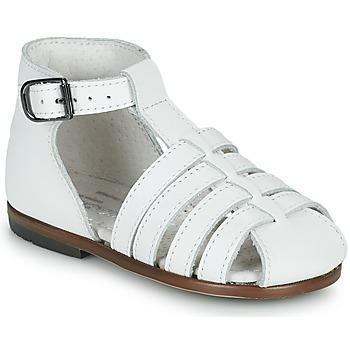 Pantofi Fete Sandale  Little Mary JULES Alb