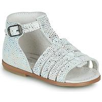 Pantofi Fete Sandale  Little Mary HOSMOSE Gri