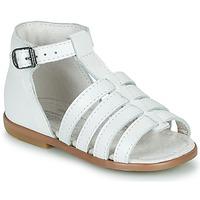 Pantofi Fete Sandale  Little Mary HOSMOSE Alb