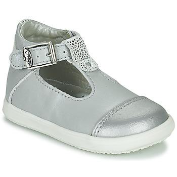 Pantofi Fete Balerin și Balerini cu curea Little Mary VALSEUSE Argintiu