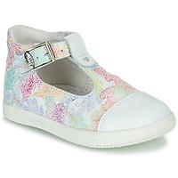 Pantofi Fete Balerin și Balerini cu curea Little Mary VALSEUSE Alb