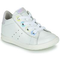 Pantofi Fete Pantofi sport stil gheata Little Mary DOROTHE Alb