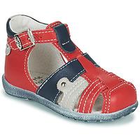 Pantofi Băieți Sandale  Little Mary VERCORS Roșu