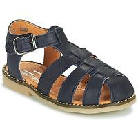 Pantofi Băieți Sandale  Little Mary BREHAT Albastru