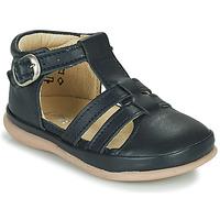 Pantofi Copii Balerin și Balerini cu curea Little Mary LAIBA Albastru