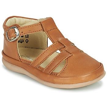 Pantofi Copii Balerin și Balerini cu curea Little Mary LAIBA Maro