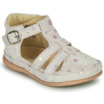 Pantofi Copii Balerin și Balerini cu curea Little Mary LAIBA Roz