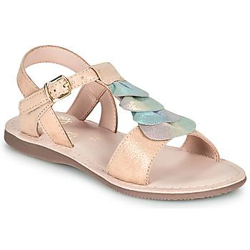 Pantofi Fete Sandale  Little Mary MARIETTE Auriu