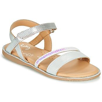 Pantofi Fete Sandale  Little Mary DOLERON Argintiu