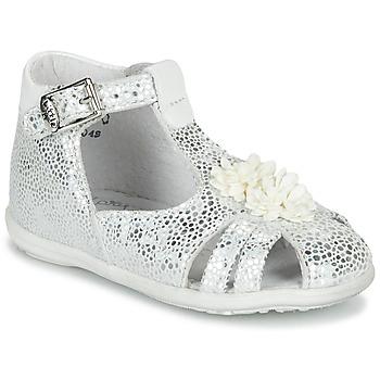 Pantofi Fete Sandale  Little Mary GLADYS Argintiu