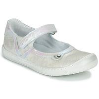 Pantofi Fete Balerin și Balerini cu curea Little Mary BRILLANTE Ecru
