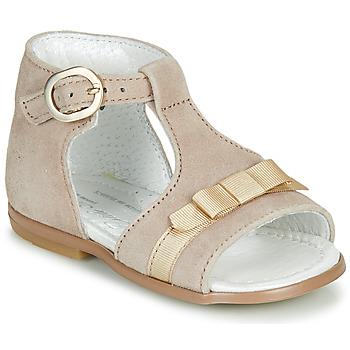 Pantofi Fete Sandale  Little Mary GAELLE Bej