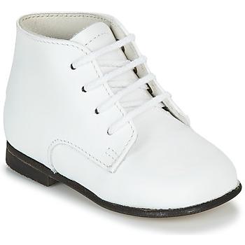Pantofi Copii Ghete Little Mary FL Alb
