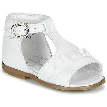 Pantofi Fete Sandale  Little Mary GAELLE Alb