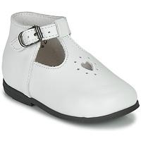 Pantofi Fete Sandale  Little Mary NANNY SP Alb