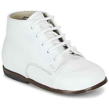 Pantofi Copii Ghete Little Mary QUINQUIN Alb