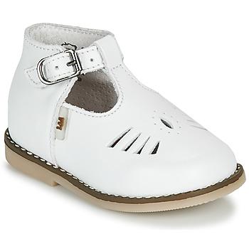 Pantofi Copii Sandale  Little Mary SURPRISE Alb