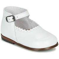 Pantofi Fete Sandale  Little Mary VOCALISE Alb