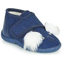 Pantofi Copii Papuci de casă Little Mary KOALAVELCRO Albastru