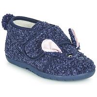Pantofi Copii Papuci de casă Little Mary LAPINVELCRO Albastru