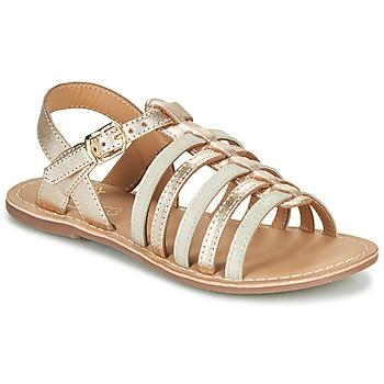 Pantofi Fete Sandale  Little Mary BARBADE Auriu