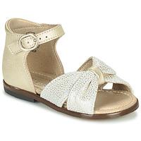Pantofi Fete Sandale  Little Mary DIANA Auriu