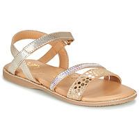 Pantofi Fete Sandale  Little Mary DOLERON Auriu