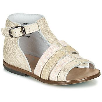 Pantofi Fete Sandale  Little Mary HOSMOSE Auriu
