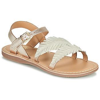 Pantofi Fete Sandale  Little Mary LORETTE Auriu