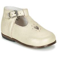 Pantofi Fete Sandale  Little Mary NANNY SP Auriu