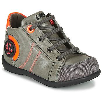 Pantofi Băieți Ghete Little Mary FELIX Gri