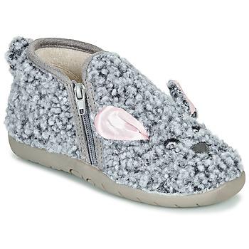 Pantofi Copii Papuci de casă Little Mary LAPINZIP Gri