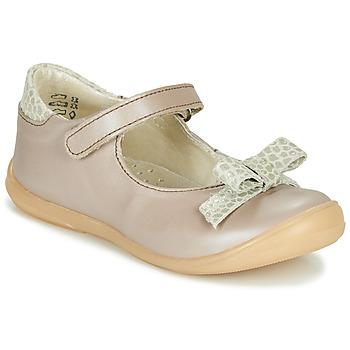 Pantofi Fete Balerin și Balerini cu curea Little Mary LUDMILA Taupe