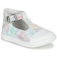 Pantofi Fete Sandale  Little Mary VALSEUSE Alb / Multicolor
