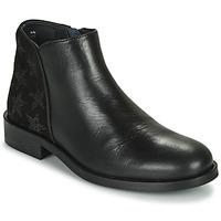 Pantofi Fete Ghete Little Mary CAMERON Negru
