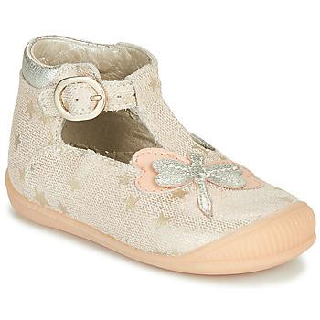 Pantofi Fete Sandale  Little Mary GLYCINE Nude