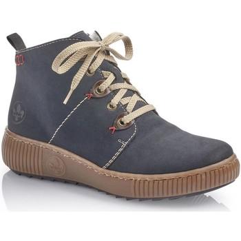 Pantofi Femei Ghete Rieker Namur Ambor Boots Blue