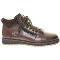 Pantofi Bărbați Cizme de zapadă Rieker Nobel Filz Virage Ambor Boots Brown