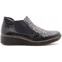 Pantofi Femei Botine Rieker Kame Ankle Boots Grey
