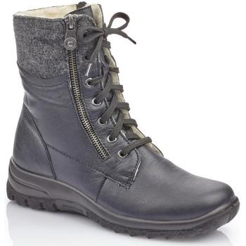 Pantofi Femei Cizme de zapadă Rieker Jerez Filz Boots Blue