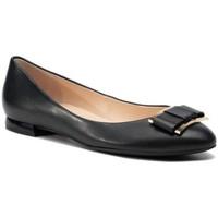Pantofi Femei Balerin și Balerini cu curea Högl Harmony Schwarz Flats Black