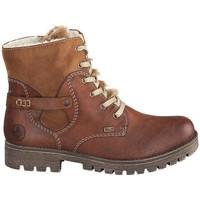 Pantofi Femei Cizme de zapadă Rieker Eagle Newa Rabbit Boots Brown
