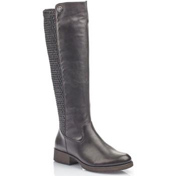 Pantofi Femei Cizme casual Rieker Cristallino Utah Fino Boots Black
